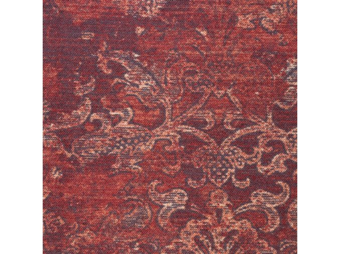 Zátěžový koberec metráž Raspini AB 7941 červený - šíře 4 m (Šíře role Cena za 1 m2)
