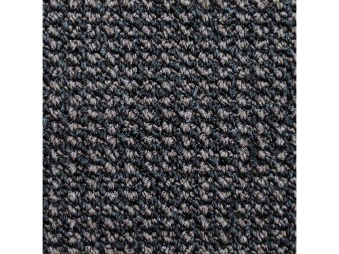 Zátěžový koberec metráž Tango AB 7897 černý - šíře 4 m (Šíře role Cena za 1 m2)