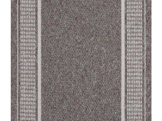 Moderní koberec běhoun Promenade 8714 šedý (Šíře role šíře 100 cm)