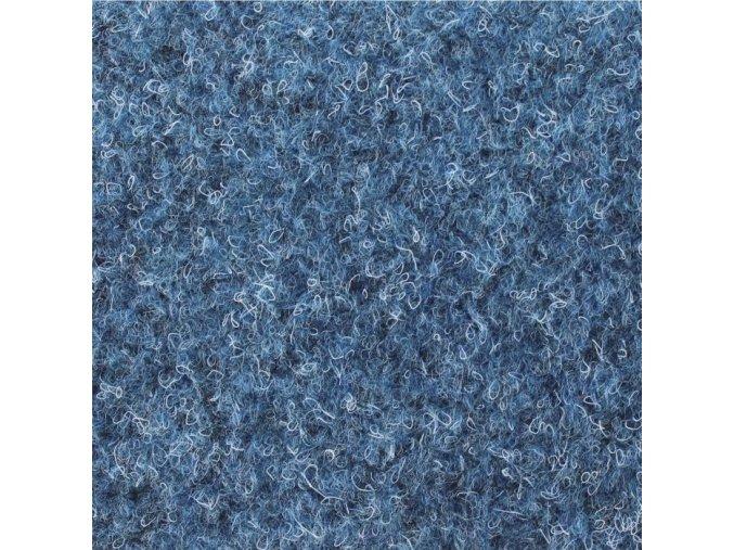 Koberec metráž zátěžový Basic Latex 5070 modrý (Šíře role Cena za 1 m2)