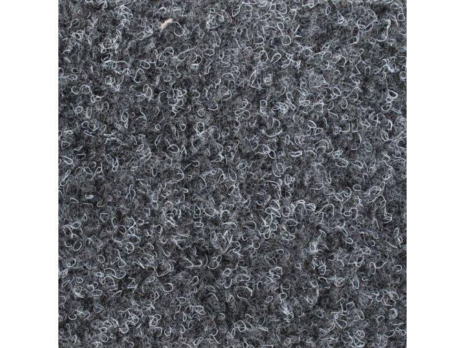 Koberec metráž zátěžový Basic Gel Guma 5001 černý (Šíře role Cena za 1 m2)