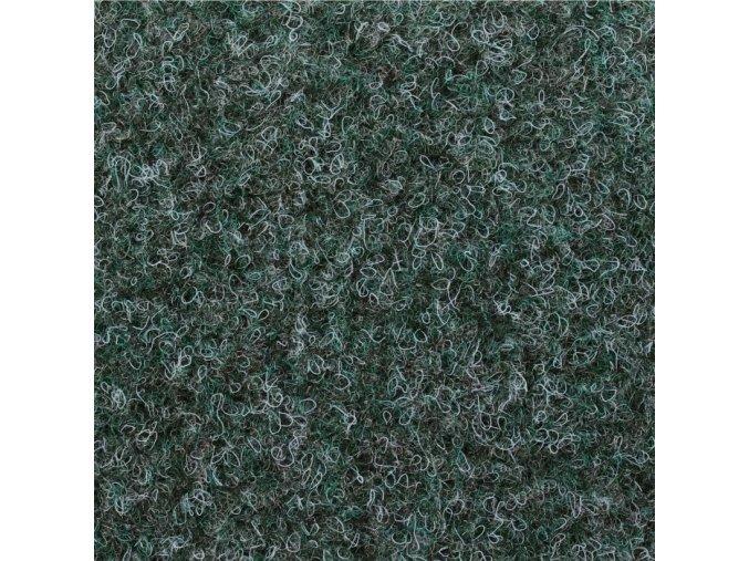 Koberec metráž zátěžový Basic Gel Guma 5061 zelený (Šíře 4m (cena za 1 bm = 4 m2))