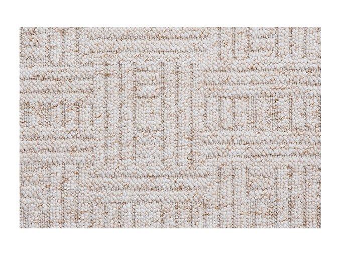 Metrážový koberec bytový New Bahia 600 béžový - šíře 5 m