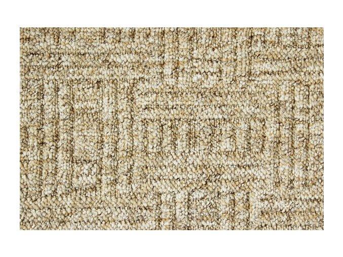 Metrážový koberec bytový New Bahia 640 béžový - šíře 4 m