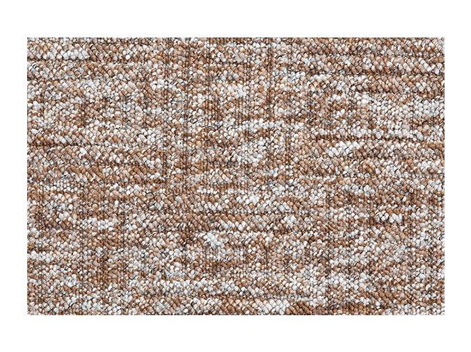 Metrážový koberec bytový New Bahia 800 hnědý - šíře 5 m
