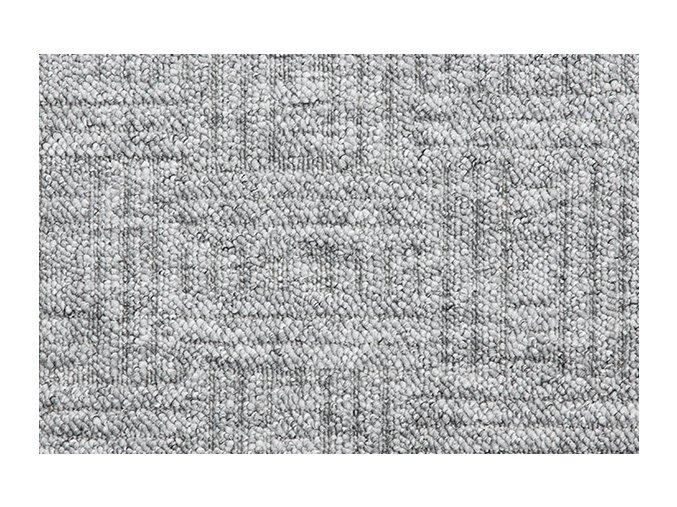 Metrážový koberec bytový New Bahia 930 šedý - šíře 4 m