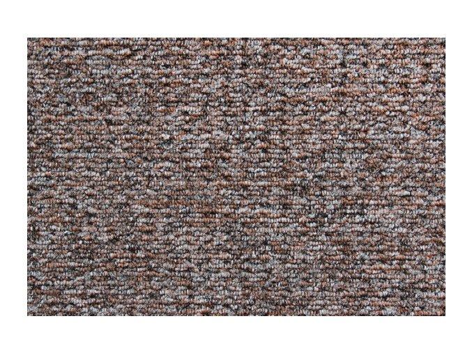 Metrážový koberec bytový Cobra 319 hnědý - šíře 4 m