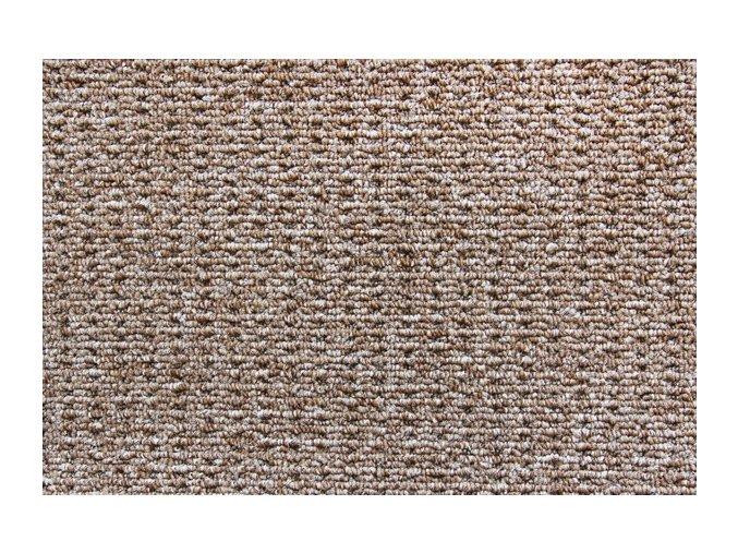 Metrážový koberec bytový Cobra 966 hnědý - šíře 4 m