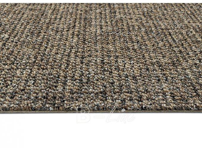 Metrážový koberec bytový Durban 43 hnědý - šíře 4 m