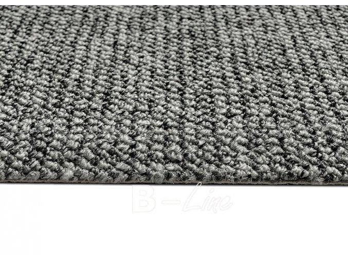 Metrážový koberec bytový Durban 93 šedý - šíře 4 m