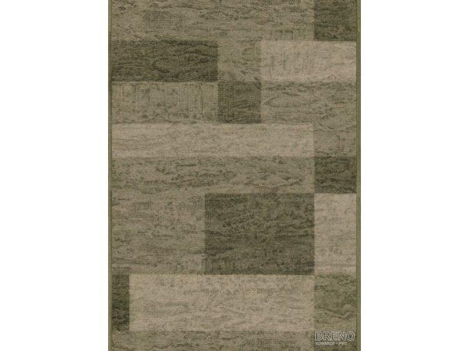 Moderní koberec běhoun Icona 29 zelený (Šíře role šíře 120 cm)