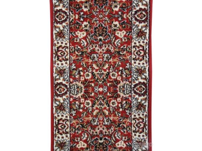 Klasický koberec běhoun Practica 59/CVC | červený
