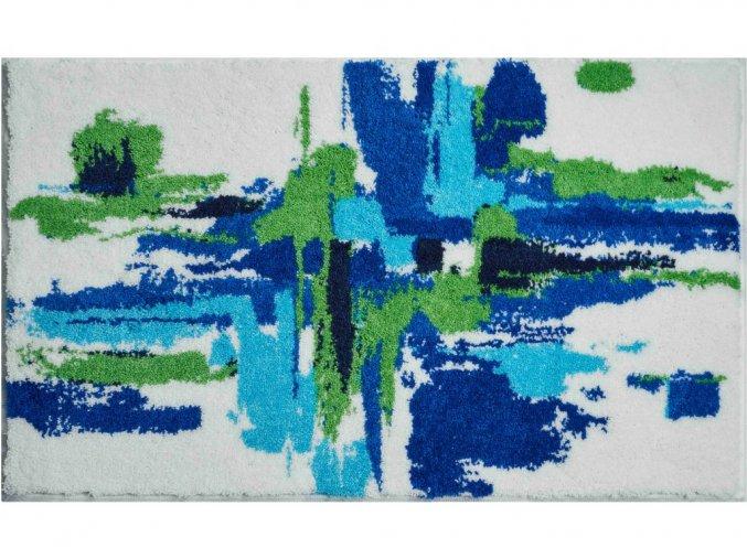 Koupelnová předložka Grund Mezzo 1333 | modrá (Typ 50x60 cm)