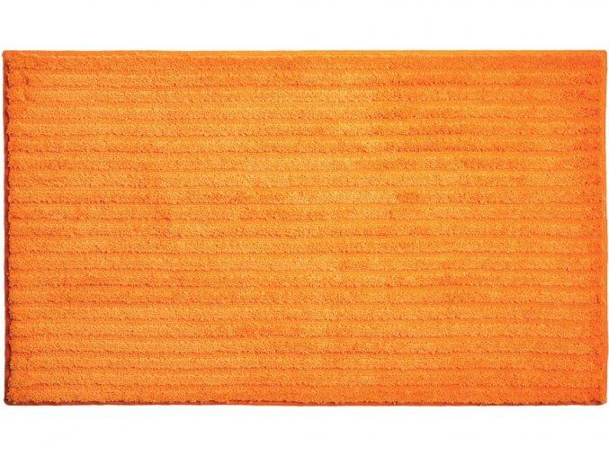 Koupelnová předložka GRUND Riffle   oranžová (Typ 50x60 cm)