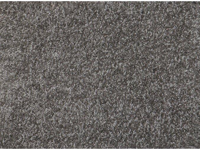 Metrážový koberec bytový Shine 72 šedý - šíře 4 m