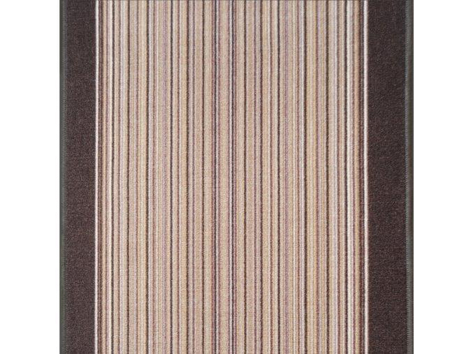 Moderní koberec běhouny Tranzit 8351 | hnědý (Šíře role šíře 100 cm)