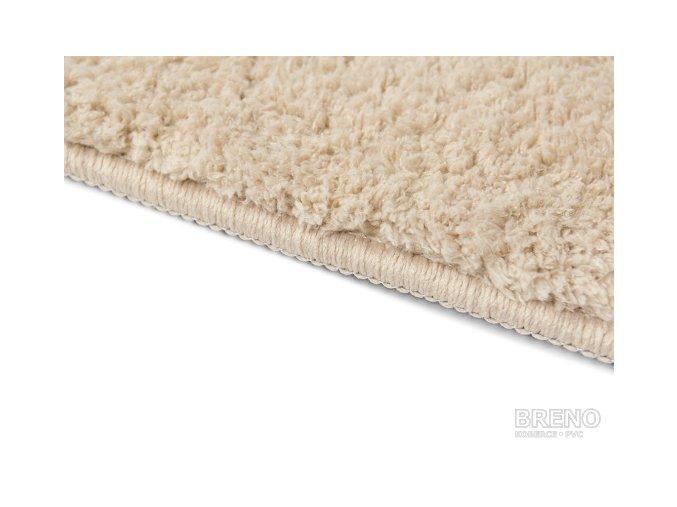 Chlupatý kusový koberec Spring Cappucino | béžová