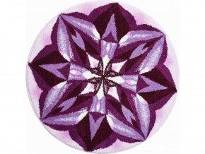 Koupelnová předložka Grund Mandala - Smysluplnost fialová