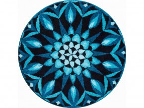 Koupelnová předložka Grund Mandala - Poznání modré