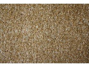 Metrážový koberec bytový Supreme Filc 50 žlutý - šíře 5 m (Šíře role Cena za 1 m2)