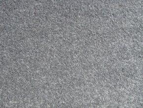 Metrážový koberec bytový Supreme Filc 75 světle šedý - šíře 4 m (Šíře role Cena za 1 m2)