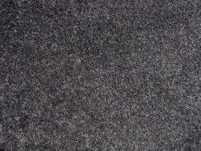 Metrážový koberec bytový Supreme Filc 76 šedý - šíře 4 m (Šíře role Cena za 1 m2)