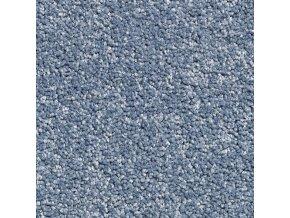 Metrážový koberec bytový Supreme Filc 80 modrý šíře 4 m