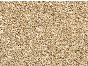 Metrážový koberec bytový Supreme Filc 92 béžový - šíře 5 m (Šíře role Cena za 1 m2)