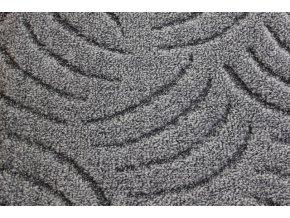 Metrážový koberec bytový Tango Filc 900 šedý - šíře 5 m (Šíře role Cena za 1 m2)