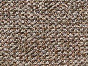 Metrážový koberec bytový Robust Filc 7517 hnědý - šíře 5 m (Šíře role Cena za 1 m2)