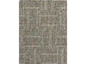 Metrážový koberec bytový Inary Filc 26 khaki šíře 5 m