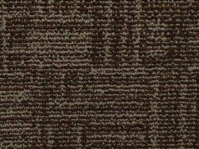 Metrážový koberec bytový Marioka 22046 hnědý šíře 3,5 m