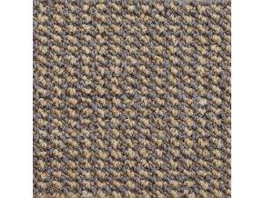 Zátěžový koberec metráž Tango AB 7816 hnědý - šíře 4 m (Šíře role Cena za 1 m2)