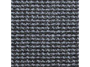 Zátěžový koberec metráž Tango AB 7887 šedý - šíře 4 m (Šíře role Cena za 1 m2)