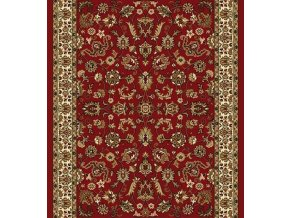 Koberec běhoun klasický Samira New 12002-011 červený (Šíře role šíře 120 cm)