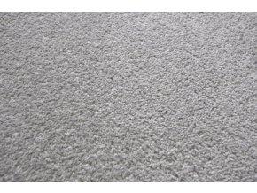 Moderní kusový koberec Eton   šedý (Typ kulatý 200 cm)