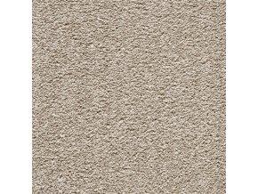 Metrážový koberec bytový Diplomat III 6641 - šíře 4 m hnědý