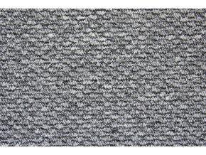 Metrážový koberec bytový Dover 73 šedý - šíře 4 m