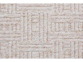 Metrážový koberec bytový New Bahia 600 béžový - šíře 4 m