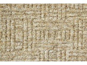 Metrážový koberec bytový New Bahia 640 béžový šíře 5 m