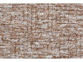 Metrážový koberec bytový New Bahia 800 hnědý - šíře 4 m