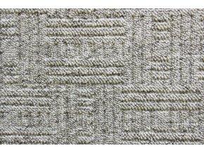 Metrážový koberec bytový New Bahia 910 šedý - šíře 4 m