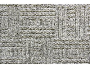 Metrážový koberec bytový New Bahia 910 šedý - šíře 5 m