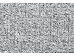 Metrážový koberec bytový New Bahia 930 šedý - šíře 4 m (Šíře role Cena za 1 m2)