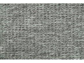 Metrážový koberec bytový Cobra 156 šedý - šíře 4 m