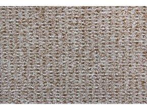 Metrážový koberec bytový Cobra 312 hnědý - šíře 4 m (Šíře role Cena za 1 m2)
