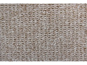 Metrážový koberec bytový Cobra 312 hnědý - šíře 4 m