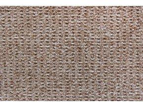 Metrážový koberec bytový Cobra 966 hnědý - šíře 4 m (Šíře role Cena za 1 m2)