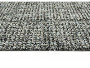 Metrážový koberec bytový Durban 39 šedý - šíře 4 m