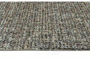 Metrážový koberec bytový Durban 49 hnědý - šíře 4 m